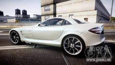 Mercedes-Benz McLaren SLR 2005 [EPM] pour GTA 4 est une gauche