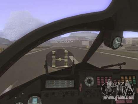 SU-24MR für GTA San Andreas rechten Ansicht