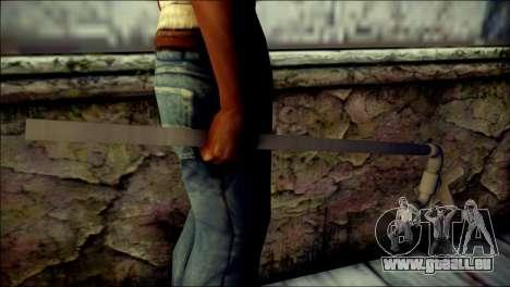 Water Pipe With Tap pour GTA San Andreas troisième écran