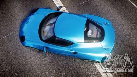 Alfa Romeo 4C 2014 HD Textures pour GTA 4 est un droit