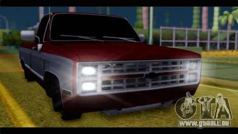 Chevrolet C10 Low für GTA San Andreas