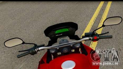 Honda XRE 300 v2.0 pour GTA San Andreas sur la vue arrière gauche
