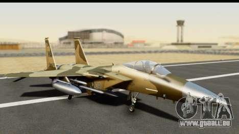 F-15C Eagle Desert Aggressor pour GTA San Andreas