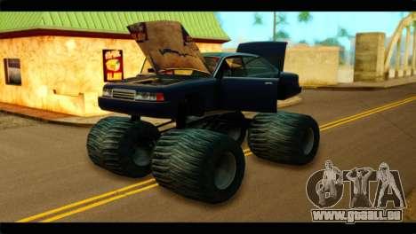 Monster Merit für GTA San Andreas rechten Ansicht