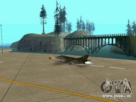 SU-24MR für GTA San Andreas Räder