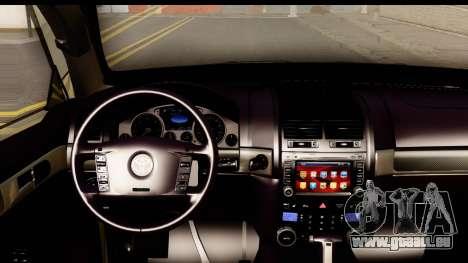 Toyota Land Cruiser 200 2013 pour GTA San Andreas vue intérieure