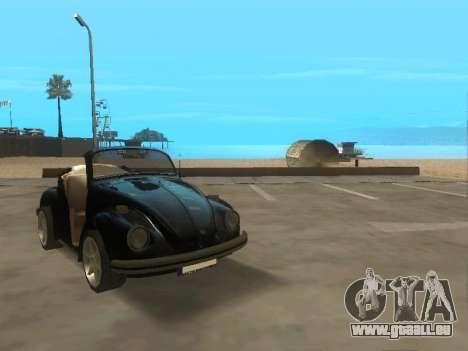 Volkswagen Beetle 1984 pour GTA San Andreas laissé vue
