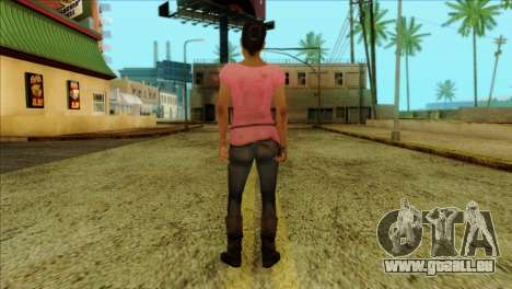 Rochelle from Left 4 Dead 2 für GTA San Andreas zweiten Screenshot