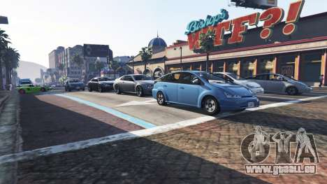 GTA 5 Plus de trafic et de la population troisième capture d'écran