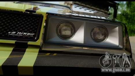 GTA 5 Imponte Phoenix IVF pour GTA San Andreas vue arrière