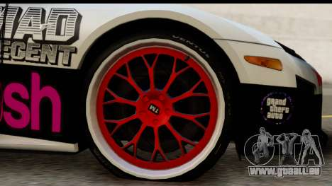 Lexus LFA 2010 Kaneki Ken Itasha pour GTA San Andreas vue arrière