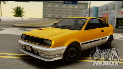 GTA 4 Blista Compact für GTA San Andreas