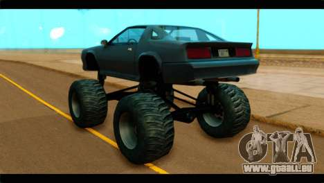 Monster Buffalo pour GTA San Andreas laissé vue