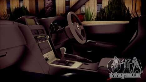 Nissan Skyline GTR V Spec II pour GTA San Andreas vue de droite