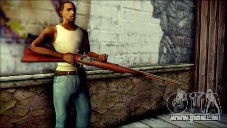Tokisaki Kurumi Rifle für GTA San Andreas dritten Screenshot