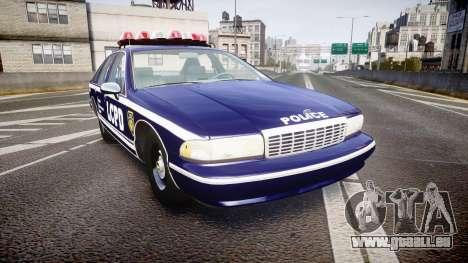 Chevrolet Caprice 1994 LCPD Auxiliary [ELS] für GTA 4