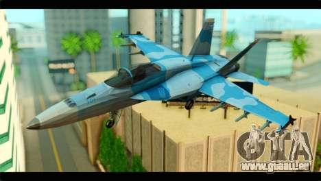 FA-18 Super Hornet Aggressor Squadron für GTA San Andreas
