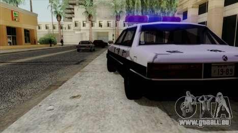 Karin Primo Police für GTA San Andreas rechten Ansicht