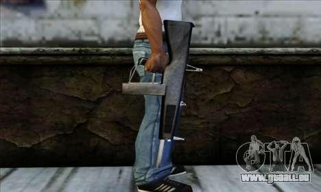 AA-12 Weapon pour GTA San Andreas troisième écran