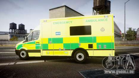 Mercedes-Benz Sprinter Ambulance [ELS] pour GTA 4 est une gauche