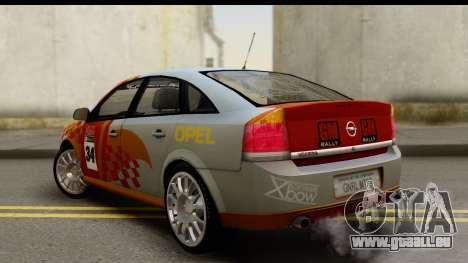 Opel Vectra pour GTA San Andreas laissé vue
