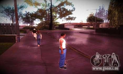 Ebin 7 ENB pour GTA San Andreas quatrième écran