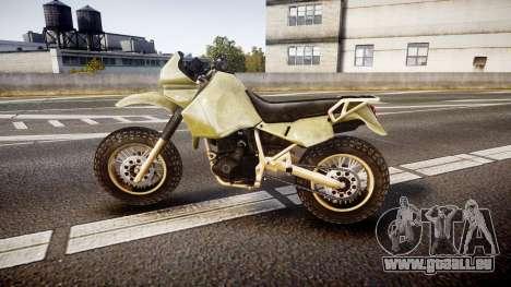 Dirt Bike pour GTA 4 est une gauche