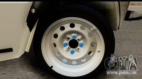 VAZ 2101 Crampes pour GTA San Andreas vue arrière