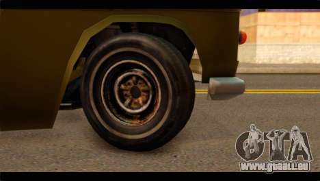 Chevrolet 56 pour GTA San Andreas sur la vue arrière gauche