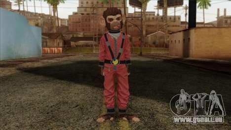 Monkey from GTA 5 v3 für GTA San Andreas