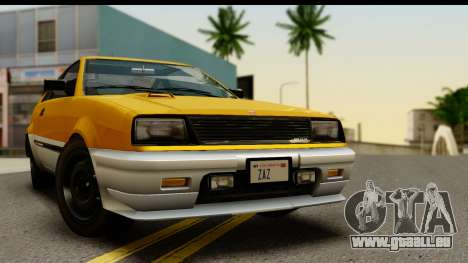 GTA 4 Blista Compact für GTA San Andreas zurück linke Ansicht