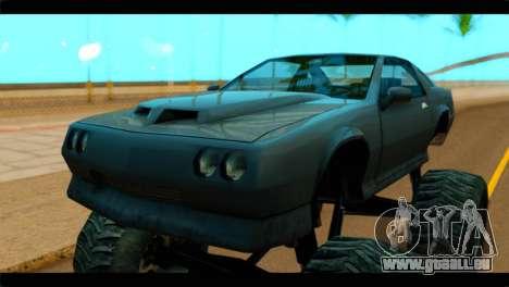 Monster Buffalo pour GTA San Andreas vue de droite