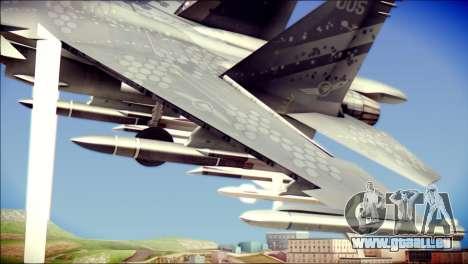 SU-37 Hexagon Madness pour GTA San Andreas vue de droite