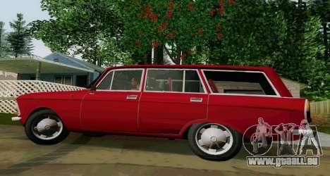 IZH-412 Wagon pour GTA San Andreas laissé vue