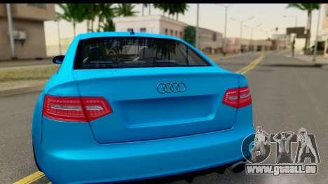 Audi RS6 Vossen pour GTA San Andreas vue de droite