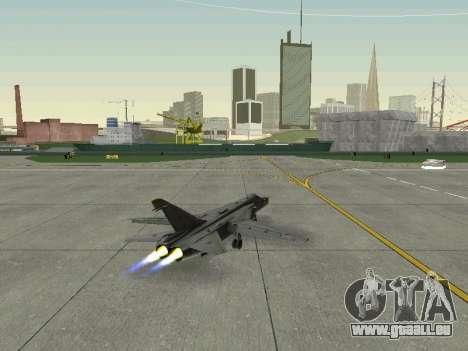 SU-24MR für GTA San Andreas Innenansicht