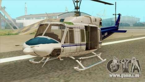 Agusta-Bell AB-212 Croatian Police für GTA San Andreas