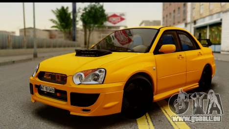 Subaru Impreza WRX STI 2005 Romanian Edition für GTA San Andreas