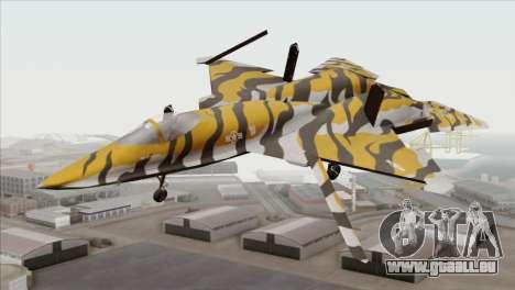 YF-23 Black Widow II Tigermeet für GTA San Andreas