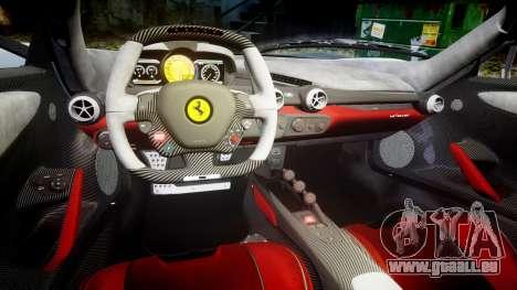 Ferrari LaFerrari 2013 HQ [EPM] pour GTA 4 est une vue de l'intérieur