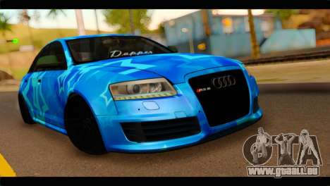 Audi RS6 VIP Star für GTA San Andreas