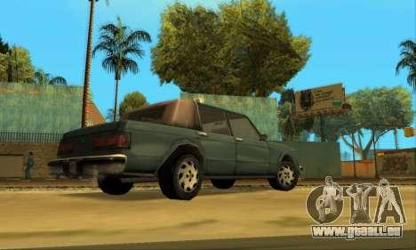 Beta VC Greenwood pour GTA San Andreas vue arrière