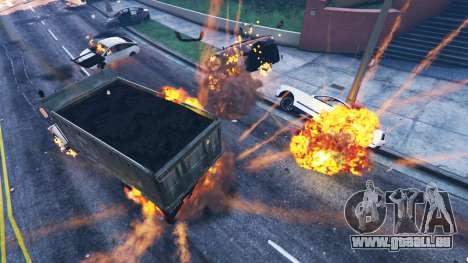 GTA 5 Le travail de sape du véhicule deuxième capture d'écran