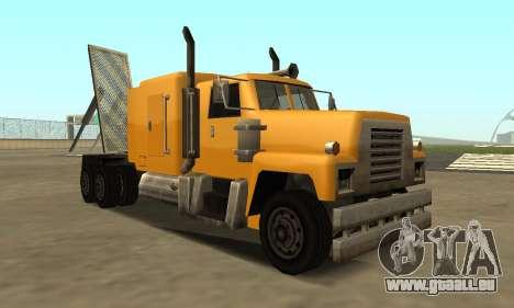 PS2 Tanker pour GTA San Andreas laissé vue