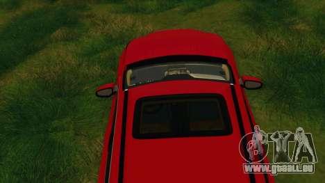Lexus NX200T v2 pour GTA San Andreas vue de dessous