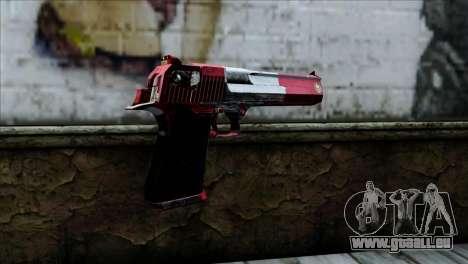 Desert Eagle Peru pour GTA San Andreas deuxième écran