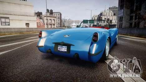 Mafia II Shubert Frigate [EPM] pour GTA 4 Vue arrière de la gauche