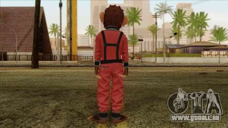 Monkey from GTA 5 v3 pour GTA San Andreas deuxième écran