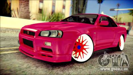 Nissan Skyline GTR V Spec II für GTA San Andreas