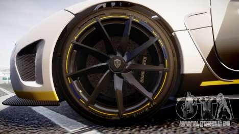 Koenigsegg Agera 2013 Police [EPM] v1.1 PJ1 für GTA 4 Rückansicht